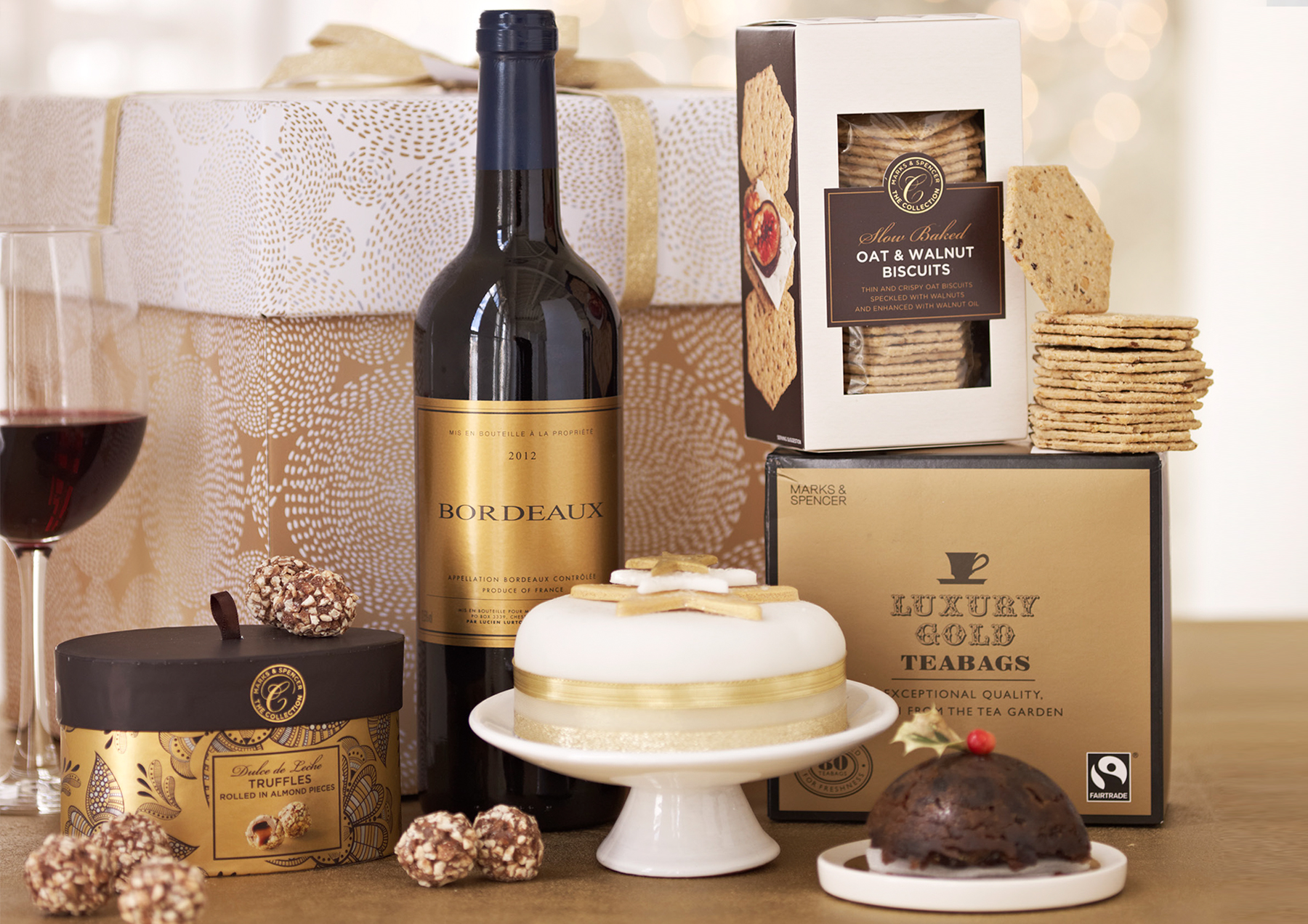 M&S   Christmas Hampers