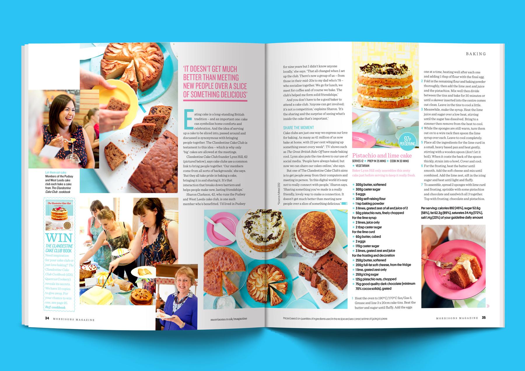 Morrisons magazine - Simon Martin Design